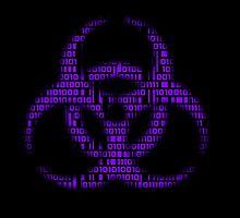 Binary Biohazard (Purple) by GrimDork