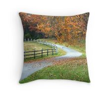 Country Autumn Throw Pillow