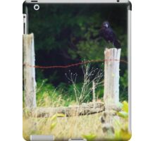 Rusty Barbed Wire Fence iPad Case/Skin