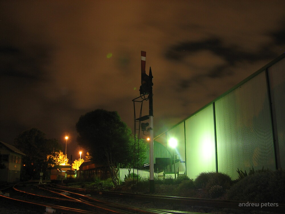 semaphore signal by andrew peters