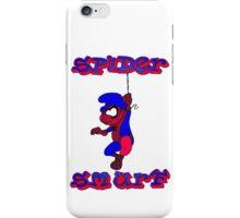 Spider Smurf iPhone Case/Skin