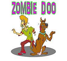 Zombie Scooby Doo Photographic Print