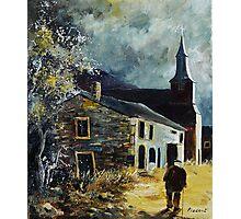 Laforet Village Belgium 56 Photographic Print