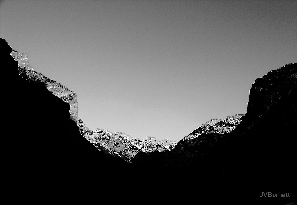 Mountain Abstract II by JVBurnett