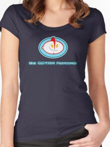 Be Normal: Ultra Normal ! Women's Fitted Scoop T-Shirt
