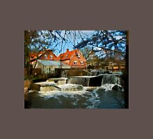 Beautiful Waterfall Country Landscape Denmark T-Shirt