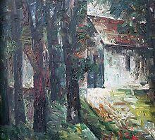 House (Tolminkiemyje) by Julijonas