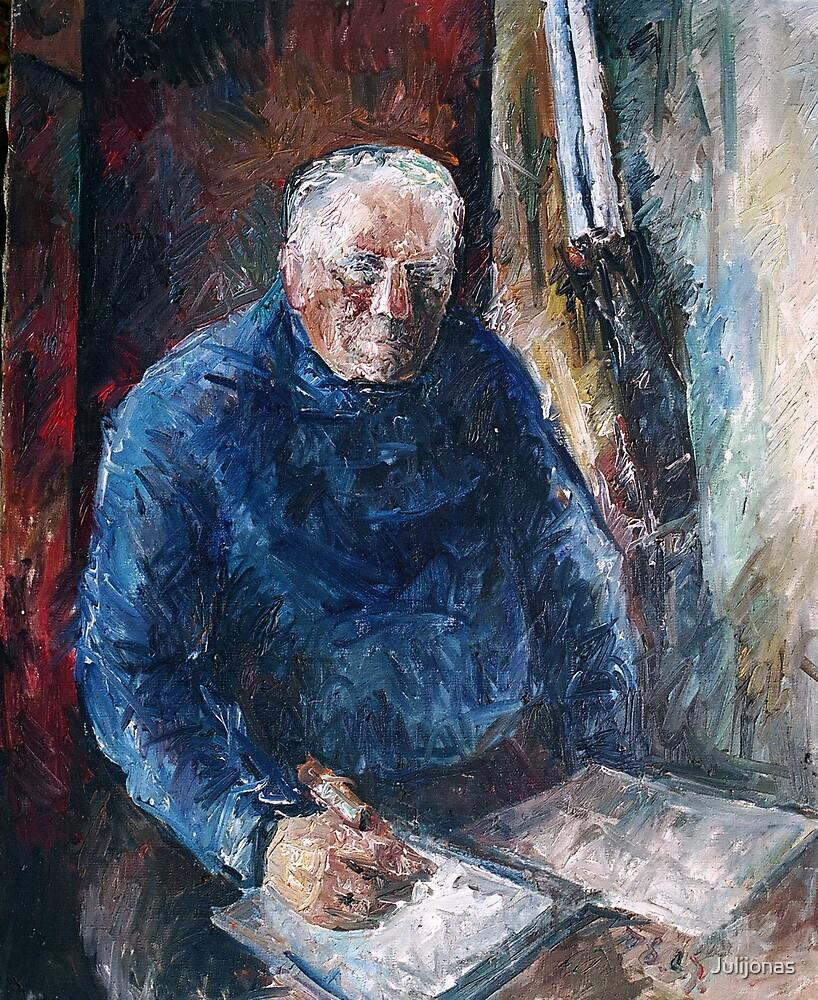 Portrait ( Tevo portretas) by Julijonas