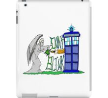 Don't Blink Tardis iPad Case/Skin