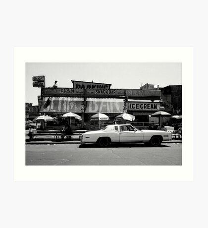 Clam Bar, Coney Island Art Print