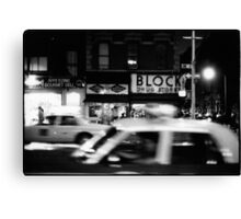 Night in New York Canvas Print