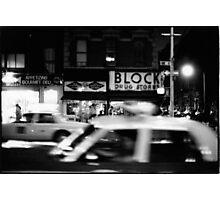 Night in New York Photographic Print