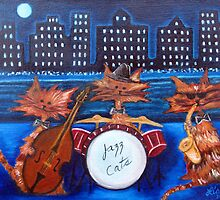 Jazz Cats by LisaLorenz
