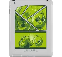Title Screen Blue iPad Case/Skin