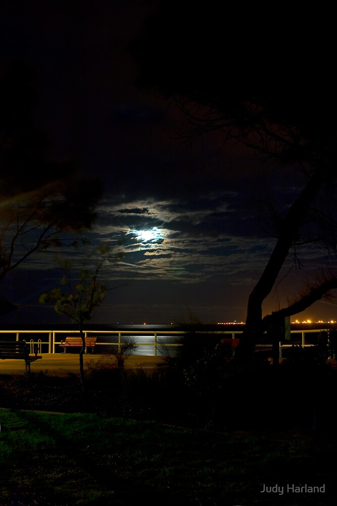 Shorncliffe by Moonlight by J Harland