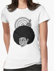 AfroGirl Womens Fitted T-Shirt