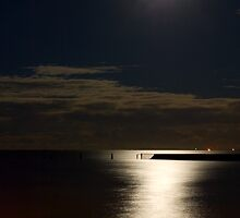 Shorncliffe by Moonlight by Judy Harland