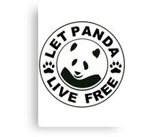Panda reborn logo Canvas Print