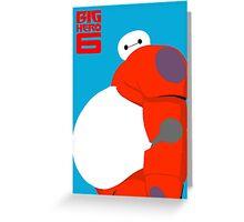 "Baymax Robot 6 ""Big Belly"" Greeting Card"