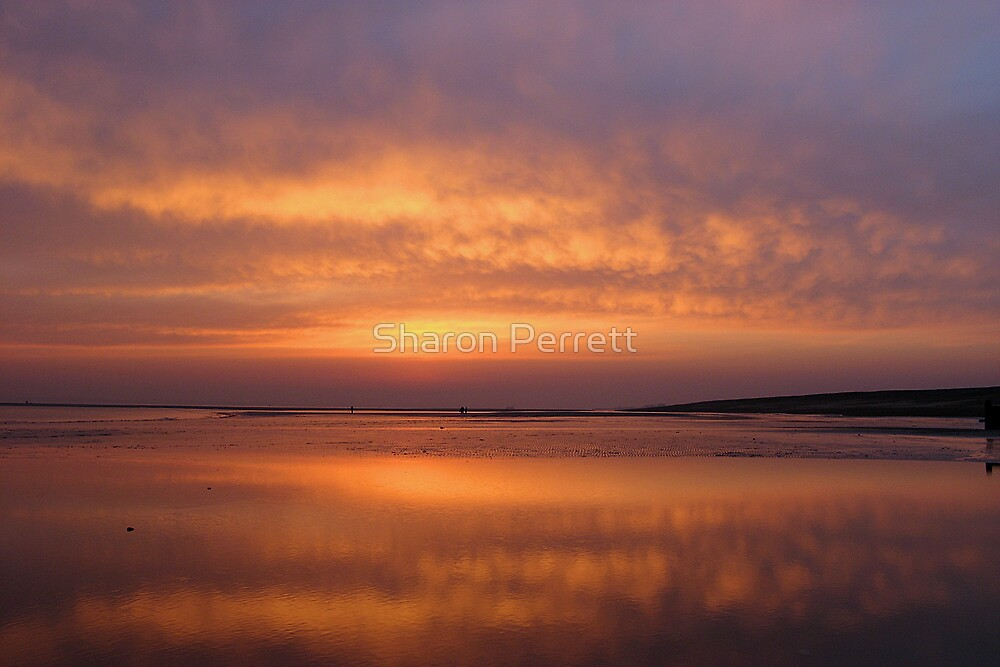 Sunset Reflections by Sharon Perrett