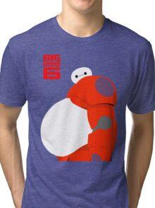 "Baymax Robot 6 ""Big Belly"" Tri-blend T-Shirt"