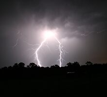 Lightning strikes twice by Ben Shaw