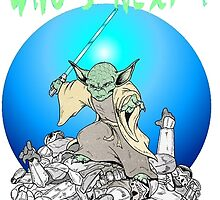 Yoda- Who's Next? by Skree