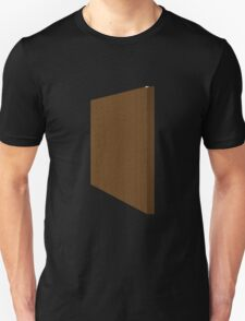 Glitch Original Homes wallpaper end boghouse brown T-Shirt