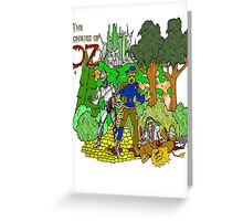 Zombies of OZ Greeting Card