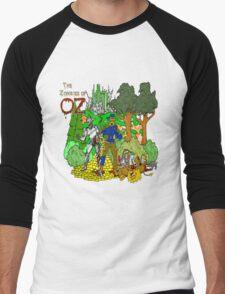Zombies of OZ Men's Baseball ¾ T-Shirt