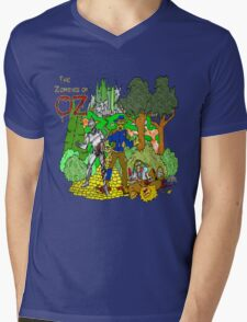 Zombies of OZ Mens V-Neck T-Shirt