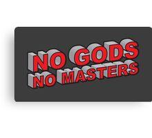 No Gods, No Masters Canvas Print