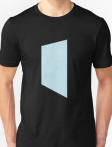 Glitch Original Homes wallpaper end stucco lightblue T-Shirt