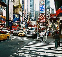 times square I by kathryn sprigg