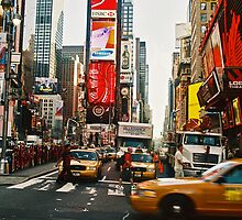 times square III by kathryn sprigg