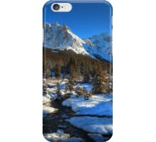 Snowy creeks (HDR) iPhone Case/Skin
