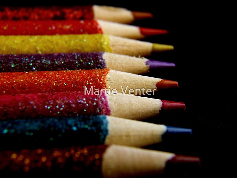 Color Pencils by Martie Venter