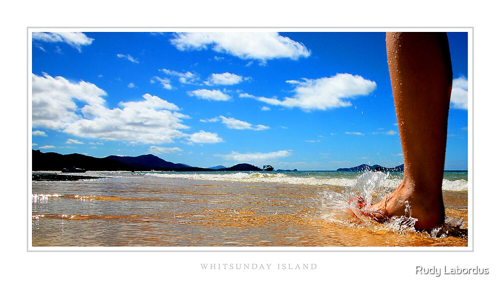 Whitsunday Island by Rudy Labordus