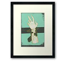 SHAPESHIFTING Framed Print