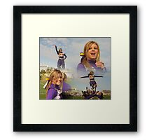 Cheer For What You Believe In Framed Print