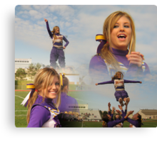 Cheer For What You Believe In Canvas Print