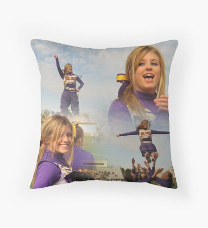 Cheer For What You Believe In Throw Pillow