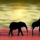 It's hot in Africa by Kurt  Tutschek