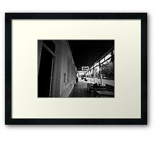 Talking to Myself Framed Print