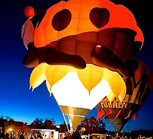 Hot Air Balloon Cortez by Randy Giesbrecht