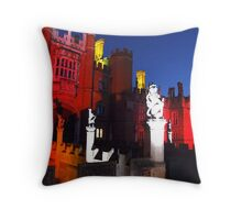 Hampton Court Palace Throw Pillow