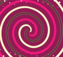 Dizzy in Purple Sticker