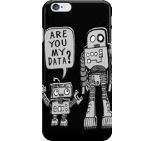 My Data? Robot Kid iPhone Case/Skin