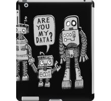 My Data? Robot Kid iPad Case/Skin