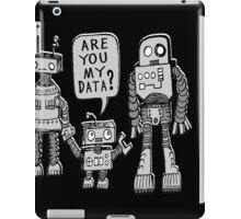 My Data? Robot Kid iPad Case/Skin